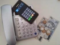 Ligações de telefone fixo para móvel estão mais baratas
