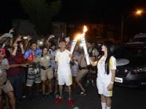 Vitória da Conquista celebra passagem da tocha olímpica