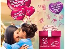 Shopping Conquista Sul anuncia horário Dia das Mães
