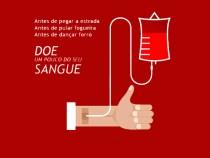 É preciso doar sangue no período junino