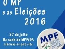 Seminário para jornalistas: MP nas eleições 2016