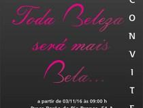 Convite especial: toda beleza será mais bela…
