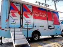 Unidade móvel da SESAB em Vitória da Conquista