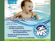 WS Atividades Aquáticas realiza festival de natação