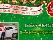 Shopping Conquista Sul anuncia ganhadores