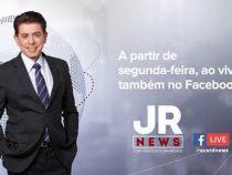 JR News ao vivo nas redes sociais