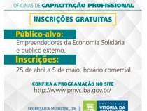 SEMTRE oferece Oficinas de Capacitação gratuitas