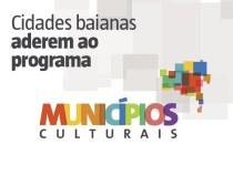Programa Municípios Culturais chega a 279 prefeituras baianas