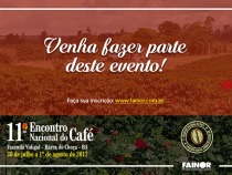 XI Encontro Nacional do Café começa neste domingo