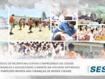 """CDL e SESI lançam campanha """"Adote um Futuro Campeão"""""""