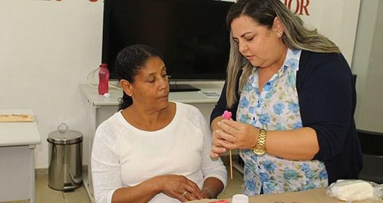 CRAS do Nova Cidade oferece oficina de artesanato