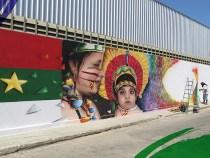 Cincal cede muro para valorizar a arte urbana