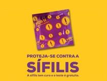 CAAV realiza ações de prevenção à sífilis em Conquista
