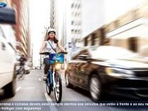 Ford dá dicas de como dirigir com segurança ao lado de ciclistas