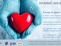 É tempo de aquecer o coração: campanha inverno solidário ano 3