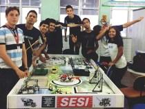 Torneio SESI de Robótica recebe inscrições