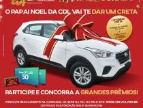 Natal Dourado CDL vai sortear um automóvel Hyundai Creta 0km!