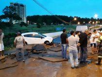 Forte chuva em Vitória da Conquista causa grandes transtornos