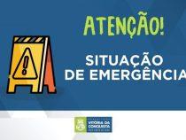 Herzem assina Decreto de Situação de Emergência em Conquista