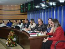 SESSÃO ESPECIAL: 13 anos da Lei Maria da Penha é discutida na Câmara