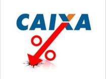 Caixa promove redução de até 40% nas taxas de juros