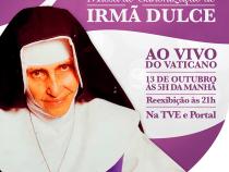 Canonização de Irmã Dulce ao vivo na TVE