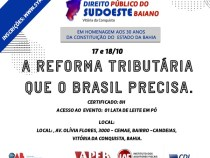 Seminário de Direito Público sobre a reforma tributária  que o Brasil precisa