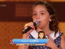 A Bahia no The Voice Kids: Rayne Almeida de Ituaçu e a famosa Analu de Conquista