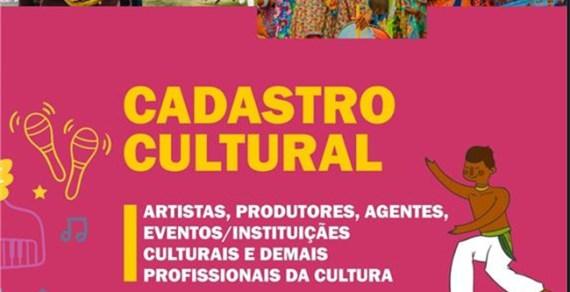 Cadastro dos Trabalhadores da Cultura segue aberto até 06 de outubro
