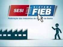 SESI Bahia abre 2262 vagas gratuitas de aprendizagem industrial básica