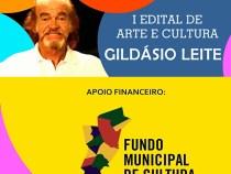 Divulgada lista de artistas classificados no I Edital de Cultura Gildásio Leite:
