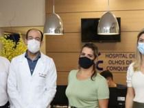 Cinquenta consultas para pacientes do SUS pelo Hospital de Olhos de Conquista