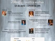 Violência contra a mulher é tema de Webinário
