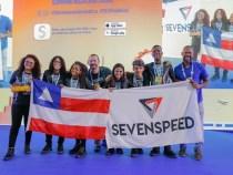 Tem conquistenses no Podium da Robótica: equipe SwordFish do SESI Anisio Teixeira
