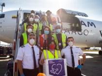 Avião Solidário Latam transporta grátis profissionais da saúde no combate à Covid