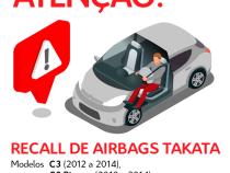 MP aciona Peugeot Citroen para assegurar substituição de airbags defeituosos