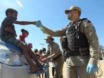 Patrulha Solidária aproxima a comunidade  da Policia Militar em Vitória da Conquista