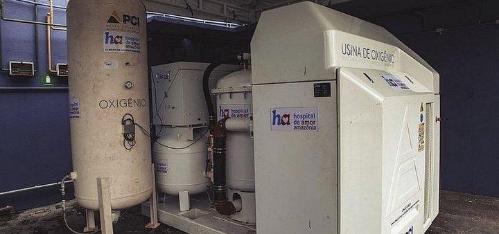 Petrobras entrega micro usina de oxigênio para hospital em Vitória da Conquista