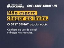 SEST SENAT faz mobilização contra o uso de álcool e drogas nas estradas