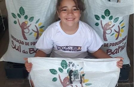 Menina de 9 anos incentiva família a produzir um dos melhores chocolates artesanais do Brasil