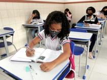 Aulas 100% presenciais na rede estadual de ensino começam nesta segunda-feira, 18