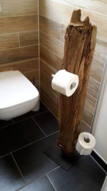 massiver WC-Rollenhalter