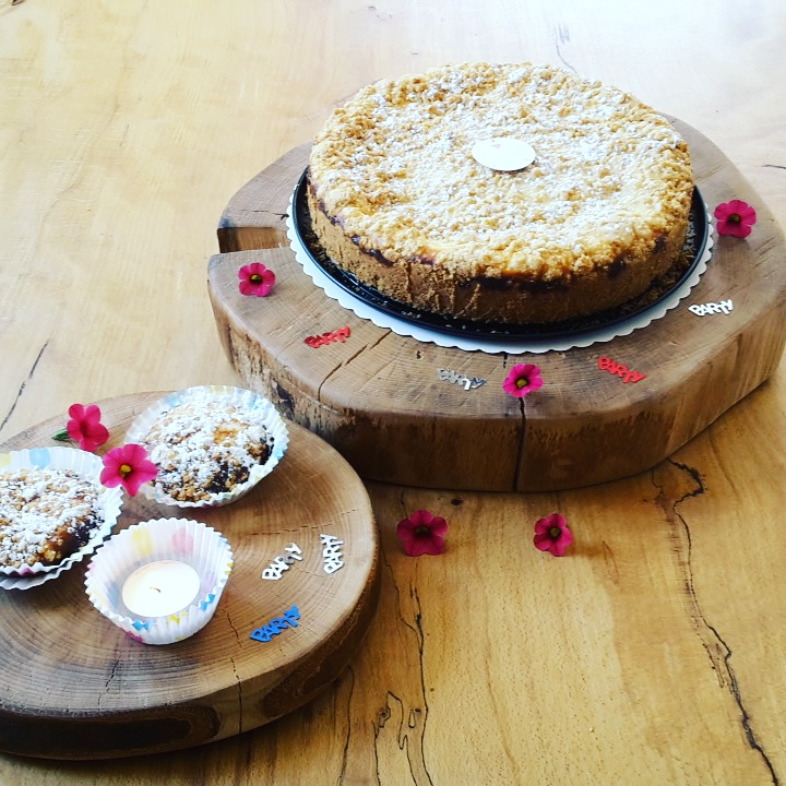 Kuchenplatten, Holzscheiben, Hochzeitstorte