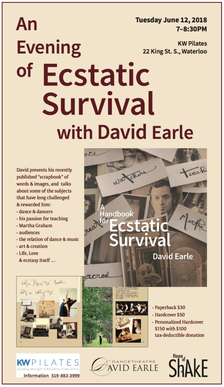 EcstaticSurvival-KW_Event_poster
