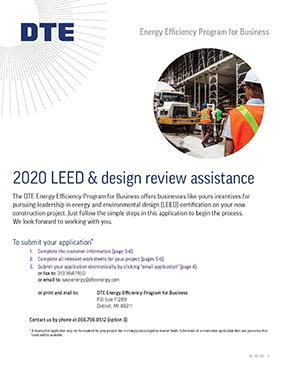 LEED New Construction Application