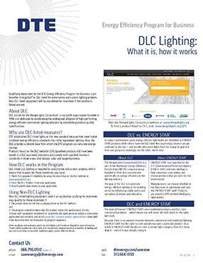 DLC Lighting Fact Sheet