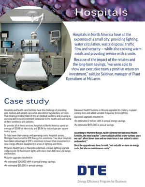 hospitals case study