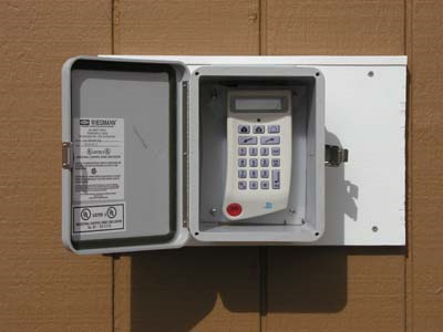 Keypad in Environmental Box  DtekTION Security Systems Inc