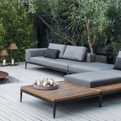 Modern Patio Sofa Tidafors Bed Dimensions Outdoor Furniture Down To Earth Living