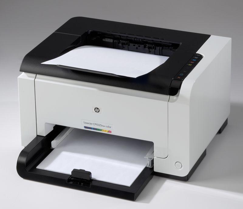 dTest: HP LaserJet Pro CP1025nw - výsledky testu tiskáren